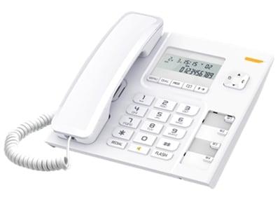 Alcatel Temporis T56 Ενσύρματο Τηλέφωνο Λευκό T-56 WH