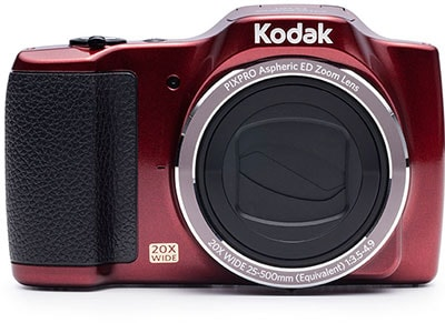 Compact Kodak Friendly Zoom FZ201 - Κόκκινο