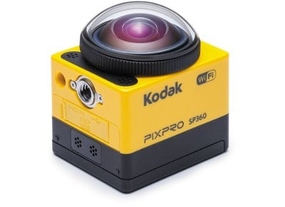 Action Camera Kodak PixPro SP360 Aqua Kit Wi-Fi Full HD