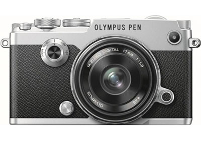 Mirrorless Camera Olympus Pen F & EW-M 17mm f/1.8 - Ασημί φωτογραφία   βίντεο   mirrorless