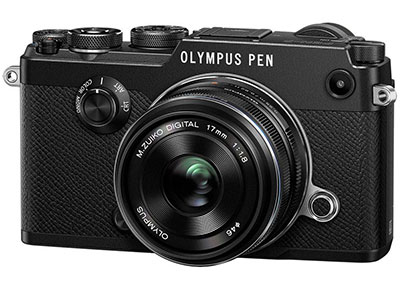 Mirrorless Camera Olympus Pen F & EW-M 17mm f/1.8 - Μαύρο φωτογραφία   βίντεο   mirrorless