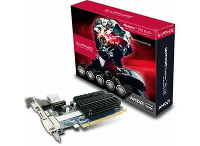 Κάρτα γραφικών - Sapphire Radeon R5 230 - 1GB