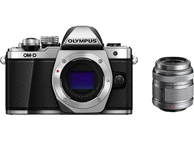 Mirrorless Camera Olympus E-M10 Mark II & EZ-M1442 IIR - Ασημί φωτογραφία   mirrorless