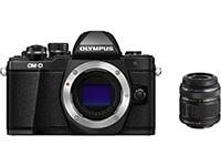 Mirrorless Camera Olympus E-M10 Mark II & EZ-M1442 IIR - Μαύρο