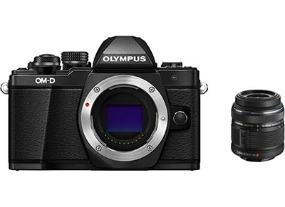 Mirrorless Camera Olympus E-M10 Mark II & EZ-M1442 IIR - Μαύρο φωτογραφία   mirrorless