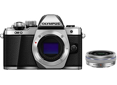 Mirrorless Camera Olympus E-M10 Mark II & EZ-M1442 EZ - Ασημί φωτογραφία   mirrorless
