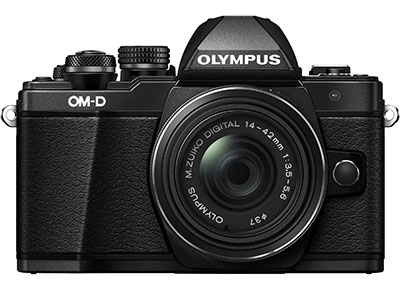 Mirrorless Camera Olympus E-M10 Mark II & EZ-M1442 EZ - Μαύρο φωτογραφία   mirrorless
