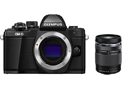 Mirrorless Camera Olympus E-M10 Mark II & 14-150mm - Μαύρο