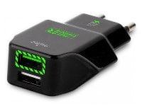 Φορτιστής Ταξιδίου Puro Fast 2 USB 3.4A Μαύρο