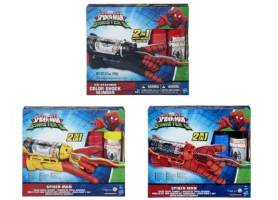 Spider-Man Color Shock Slingers - 1 τεμάχιο (B5752)