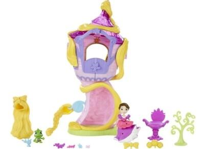 Κούκλα Πριγκίπισσα Disney Μίνι Princess Rapunzel Towe