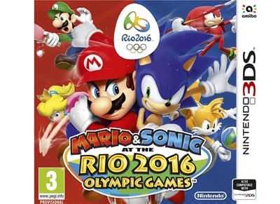 Mario & Sonic at the Rio 2016 Olympic Games - 3DS/2DS Game gaming   παιχνίδια ανά κονσόλα   3ds 2ds