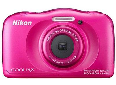 Compact Nikon Coolpix S33 Αδιάβροχη - Ροζ