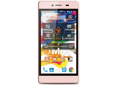 Smartphone MLS iQTalk Color Mini Dual Sim Ροζ