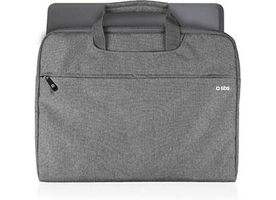 """Τσάντα Laptop 15.6"""" SBS Lux -  Γκρι"""