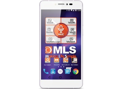 "4G Smartphone MLS Diamond 5.2"" 16GB Λευκό"