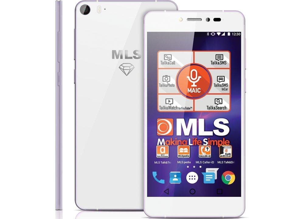 "Smartphone MLS Diamond 5.2"" 16GB Λευκό"
