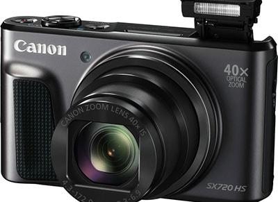 Compact Canon Powershot SX720 HS - Μαύρο
