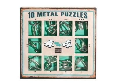 Γρίφος 10 Metal Πράσινο Σετ (10-G) - Μαθηματική Βιβλιοθήκη