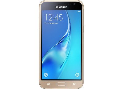 Samsung Galaxy J3 2016 8GB Χρυσό Smartphone