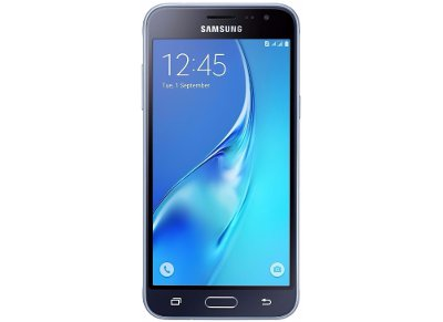 Samsung Galaxy J3 2016 8GB Μαύρο Dual Sim Smartphone