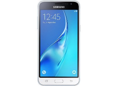 Samsung Galaxy J3 2016 8GB Λευκό Dual Sim Smartphone