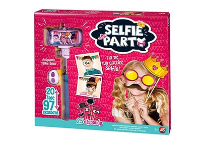 Selfie Πάρτι - Σετ Φωτογραφίας (1080-21000)