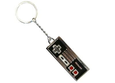 Μπρελόκ NES Controller Enamelled Metal Keychain - Γκρι