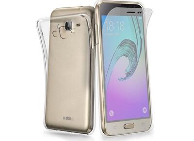 Θήκη & Μεμβράνη Samsung Galaxy J3 2016 - SBS Aero Extraslim Cover - Διαφανές τηλεφωνία   tablets   αξεσουάρ κινητών   θήκες