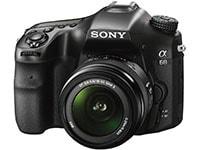 DSLR Sony A-mount α68 - 18-55mm II - Μαύρο
