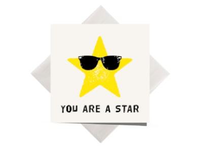 Ευχετήρια Κάρτα SpreadTheMagic - You Are A Star