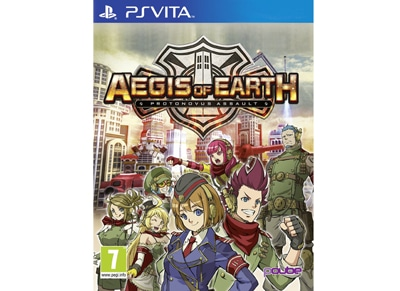 Aegis of Earth: Protonovus Assault - PS Vita Game gaming   παιχνίδια ανά κονσόλα   ps vita