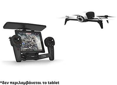Parrot Bebop 2 Drone & Skycontroller - Τηλεκατευθυνόμενο Drone με κάμερα Λευκό