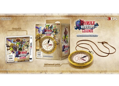 Hyrule Warriors: Legends Limited Edition - 3DS Game