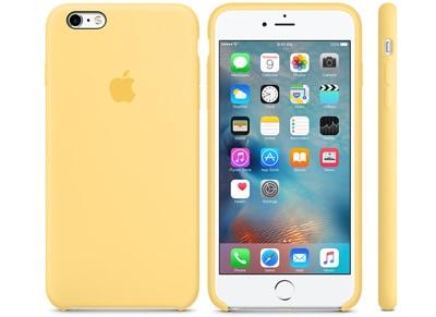Θήκη iPhone 6s Plus - Apple Silicone Case Yellow (MM6H2ZM/A) apple   αξεσουάρ iphone   θήκες