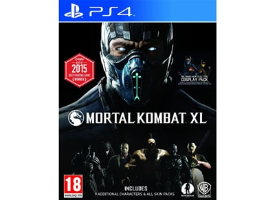 PS4 Used Game: Mortal Kombat XL gaming   used games   ps4 used