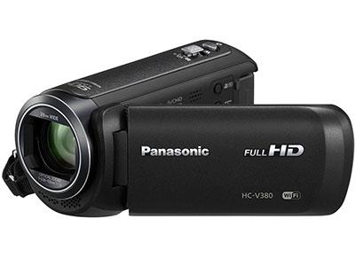 Βιντεοκάμερα Panasonic HC-V380EG-K - Μαύρο