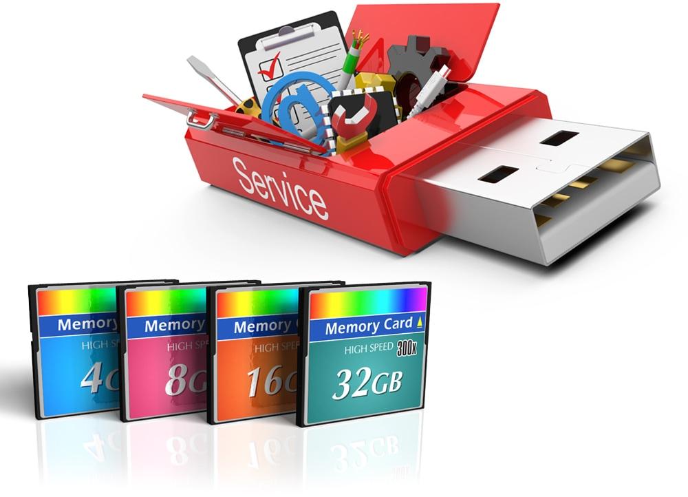 Ανάκτηση δεδομένων από USB & Flash Drives (έως 32GB)