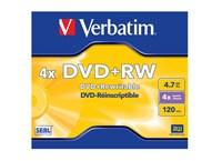Verbatim DataLifePlus DVD+RW 4x 4,7GB - 1 τεμ - Μέσο αποθήκευσης