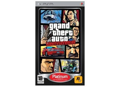 GTA Liberty City Stories Platinum  - PSP Game