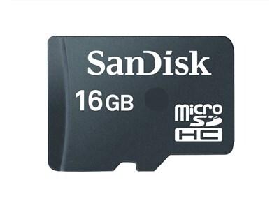 Κάρτα μνήμης microSDHC 16GB Class 2 - SanDisk SDSDQ-016G-E12M