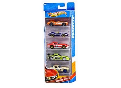 Αυτοκινητάκια Hot Wheels (Σετ 5 Τεμαχίων)