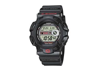 Ανδρικό Ρολόι Casio Gulfman Μαύρο  G 9100 1ER
