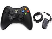 Microsoft Xbox 360 - Ασύρματο Χειριστήριο Xbox 360 Μαύρο