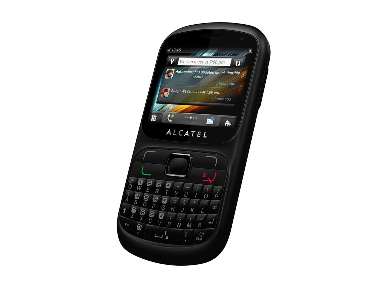 Alcatel ot813 - mαύρο