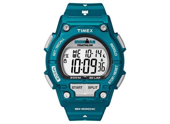 Ανδρικό Ρολόι Timex Ironman Shock Resistant Μπλε  T5K474