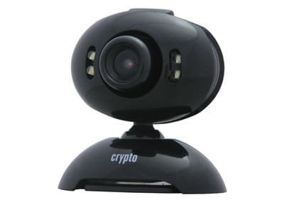 Web Camera Crypto Bright - Μαύρο
