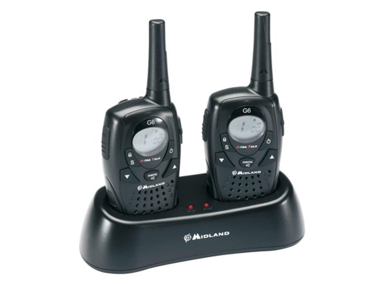 pin midland walkie talkie two 2 way radio chargers 4 boom. Black Bedroom Furniture Sets. Home Design Ideas