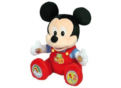 Disney Baby Mickey Κούκλα Εκμάθησης (Μιλάει Ελληνικά)
