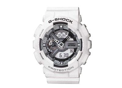 Ανδρικό Ρολόι Casio G Shock Λευκό  GA 110C 7AER